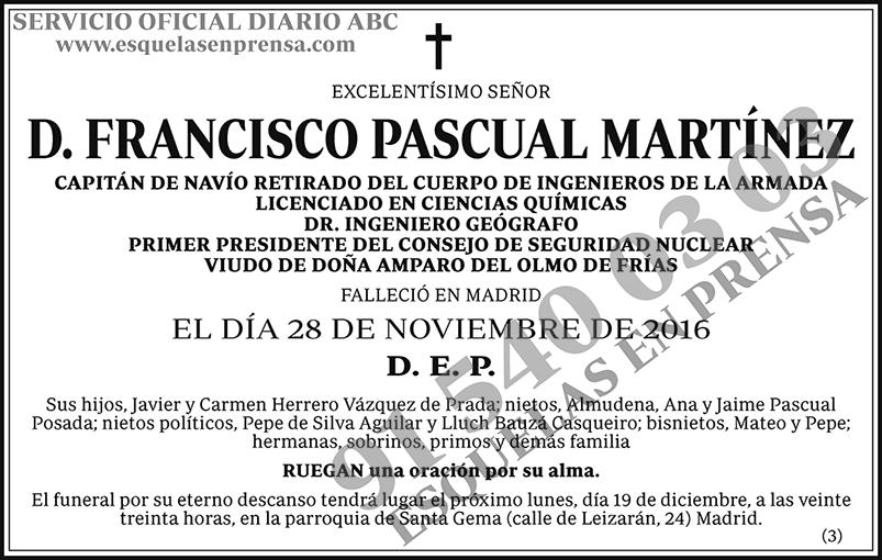 Francisco Pascual Martínez